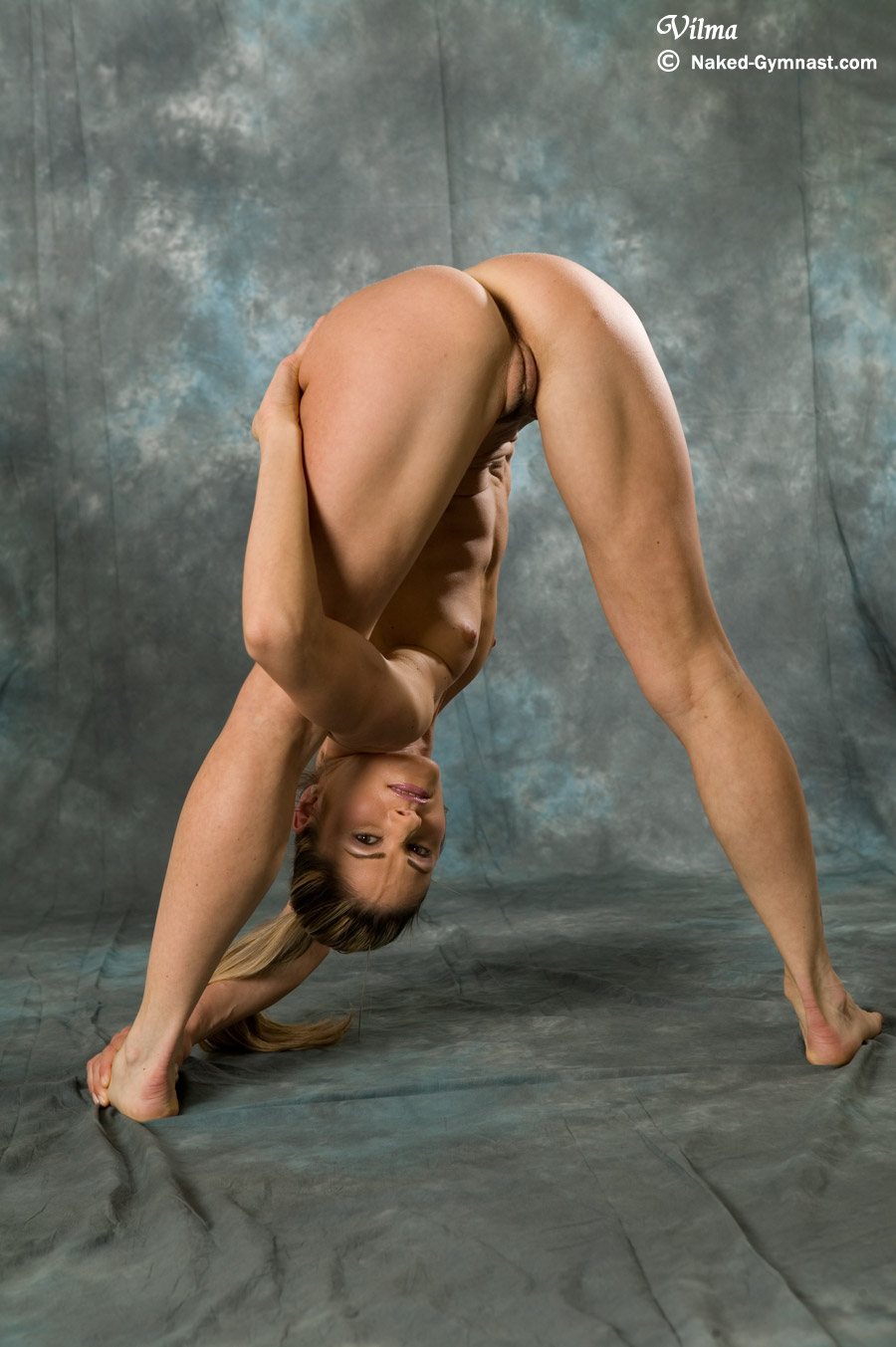 Women beautiful naked athletic Nude sports,